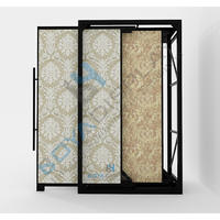 New Coming Custom Wallpaper Display Stands With Handle Manufacturer From China
