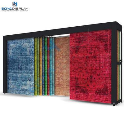 Customized Strong Metal Material High-Class Carpet Roll Storage Racks