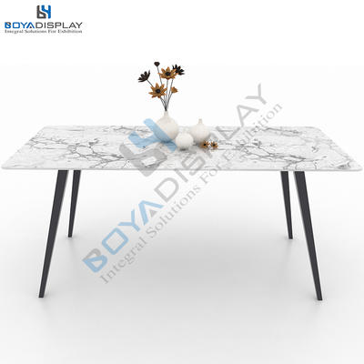 Exquisite Custom Showroom Display Table For Stone Granite And Marble Tile