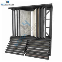 Custom Page-Turning And Drawer Combination Tile Display Rack