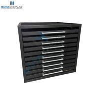 Manufacturer Custom Drawer Type Tile Stone Wooden Floor Sample Display Cabinet