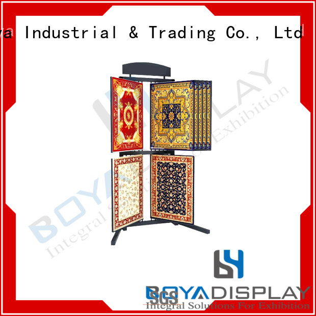 Latest Fan Display Stand For Business Boya